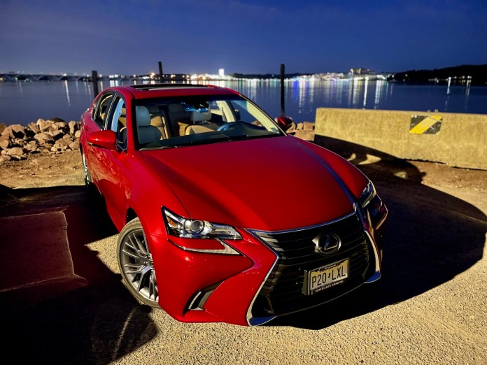 2020 Lexus GS350 red