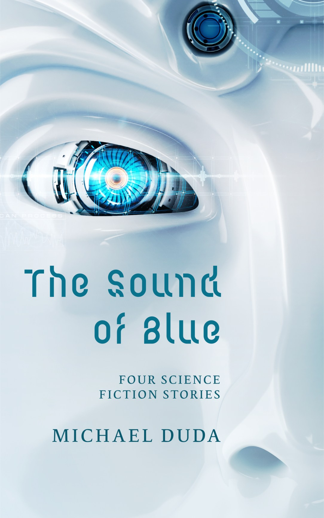 Where aliens exist. The Sound of Blue book cover by Michael Duda