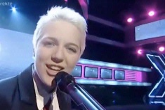 Teenage lesbian wows Danish X Factor judges