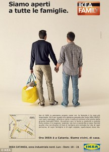 IKEA unveils gay ad in Italy