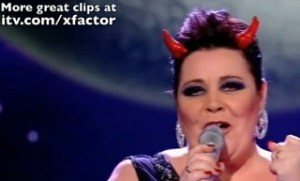X Factor star says she's not a lesbian
