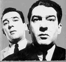 The Kray twins were both gay and 'brainless', says former London gangster Eddie Richardson