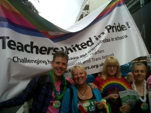 LGBT teacher 'highly commended' in national teaching award ceremony