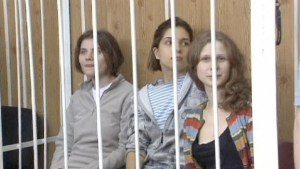 "Russian girl band ""Pussy Riot"" stand trial"