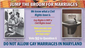 Anti-equal marriage group targets black voters
