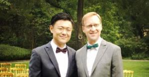 British diplomat marries his partner in China