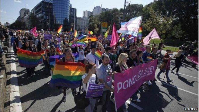 belgrade gay pride serbia