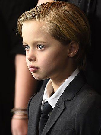 John Jolie Pitt at the Premiere of Unbroken
