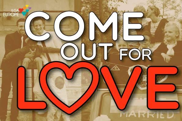 #IComeOutForLove Valentine's Day