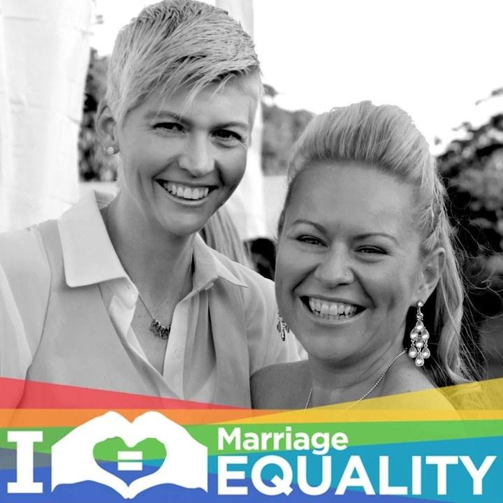 Lara Ryan Equal Marriage Australia