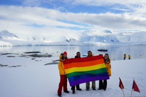 Antarctica has been labelled the world's first LGBT-friendly continent