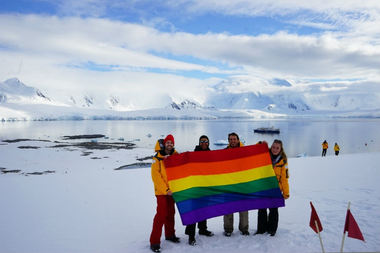 Planting Peace Antartica