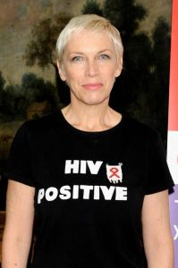 Singer Annie Lennox receives award for HIV activism