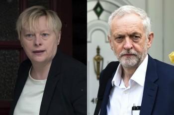 Jeremy Corbyn ans Angela Eagle