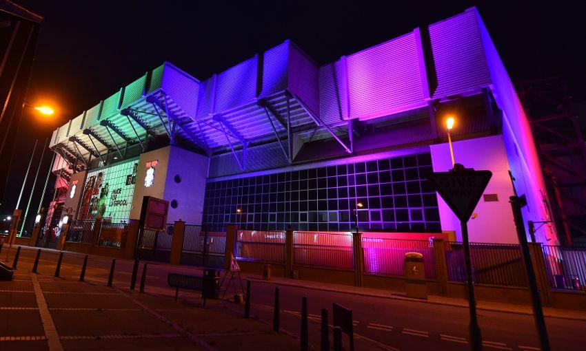 Liverpool pride Anfield Kop