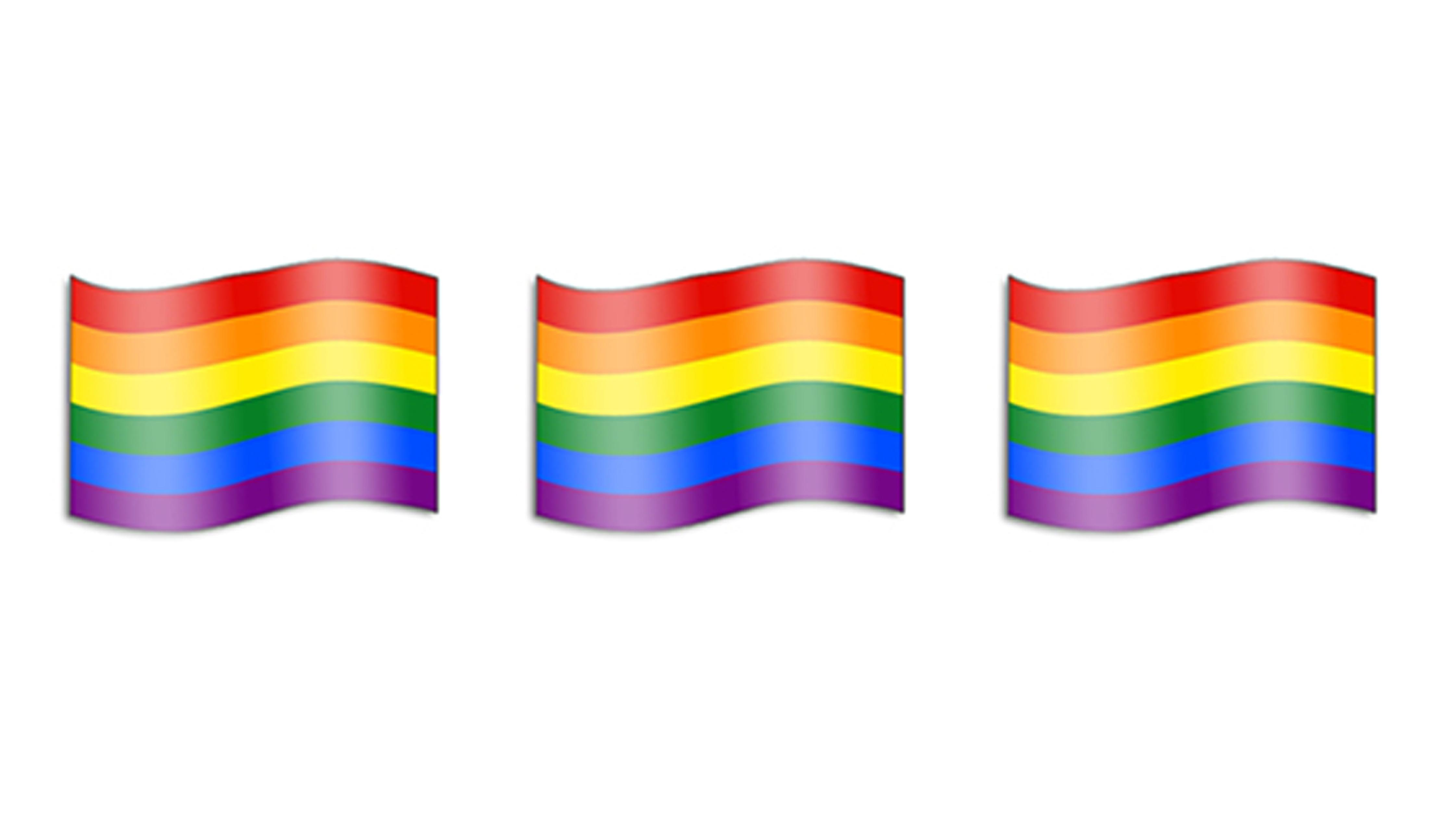 Rainbow Flag emoji