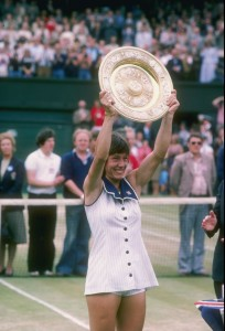 Martina Wimbledon 1978