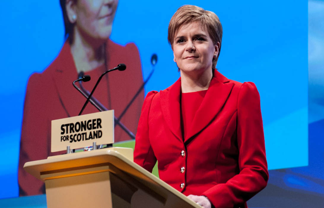SNP Conference Nicola Sturgeon
