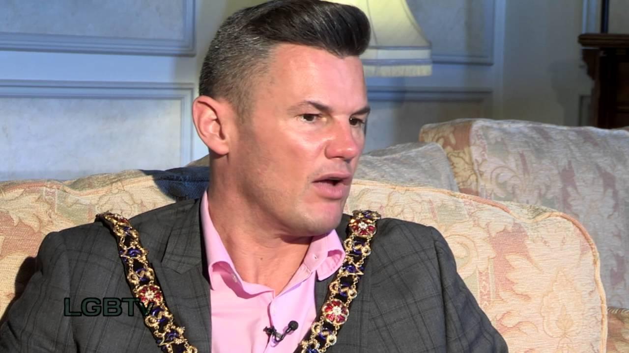 Lord Mayor Carl Austin-Behan