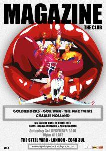 Gok Wan club night Magazine