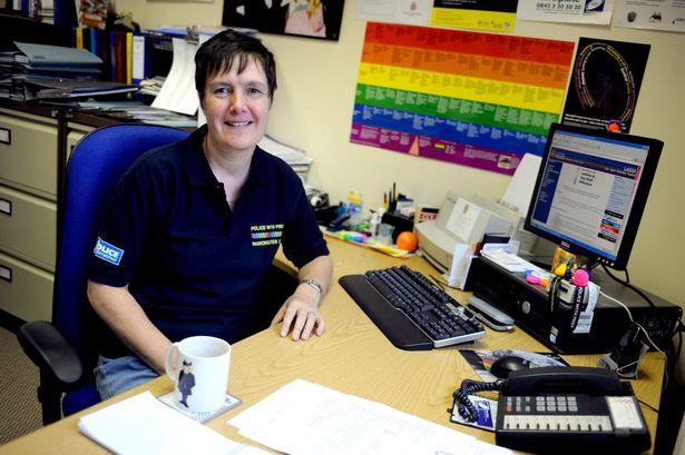 police officer Julie Barnes Frank