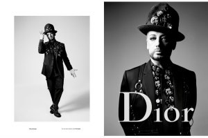 Boy George is the new face of Dior Homme campaign