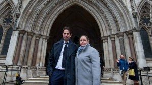 Heterosexual couple lose legal battle over civil partnership law