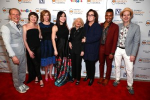 "Rosie O'Donnell and Edie Windsor attend ""Night At The Pier"""