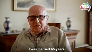 "WATCH: 104-year-old grandad sends his gay grandson this amazing ""Yes"" video"