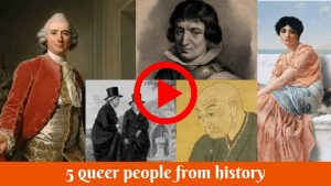 WATCH: Q do you think you are? Can you name all 5 of these queer historical figures?