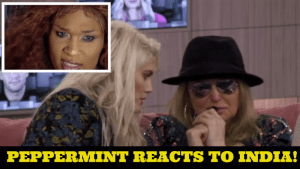EXCLUSIVE: RuPaul star Peppermint reacts to Celebrity Big Brother's India Willoughby