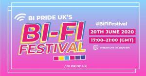 OutNews Global to partner Bi Pride's Bi-Fi Festival.