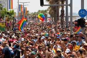 Middle East's gay capital Tel Aviv launches virtual Pride month.