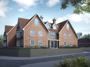 Surrey. Beautiful new apartments in Godalming.