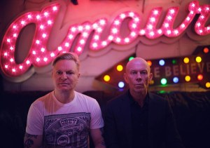 You can ring my [Andy] Bell. Yes! Erasure are back!