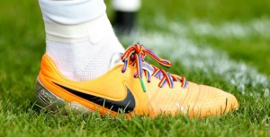 US soccer team's anti-homophobia walk-out raises questions for English game.