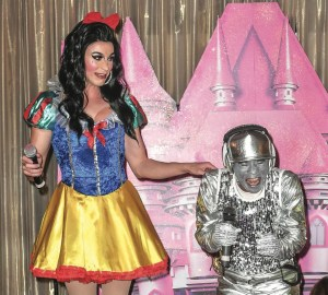 He's behind you! Adult panto returns to Soho.