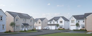 There's a brand new community six miles from Glasgow!