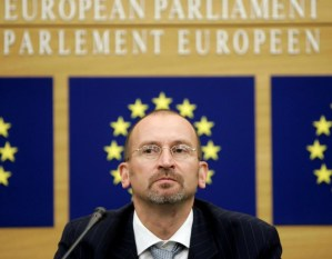 Homophobic MEP busted at Brussels gay sex party.