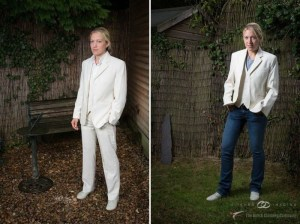 Fashion focus! Wedding style from the Butch Clothing Company.