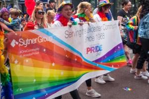 Leicester Pride sponsor Sytner offer support to LGBTQ+ community.