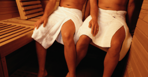 Let's get steamy! Lifting the lid on the gay sauna scene. Watch now!