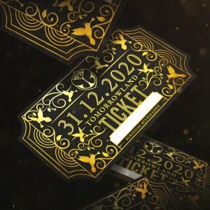 New Year's Eve celebration at Tomorrowland 31.12.2020.
