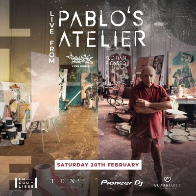 Florian Picasso Live From Pablo's Atelier