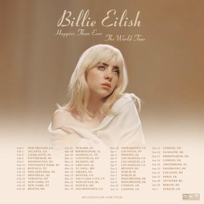 Billie Ellish - Happier Than Ever (tour)