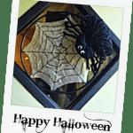 How To Make A Halloween Spider Web Door Hanger