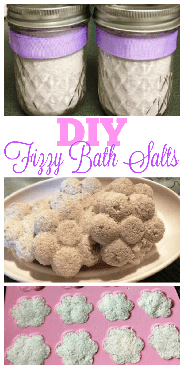DIY Fizzy Bath Salts