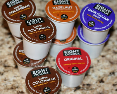 Eight O'Clock Coffee K-Cups Review & Giveaway