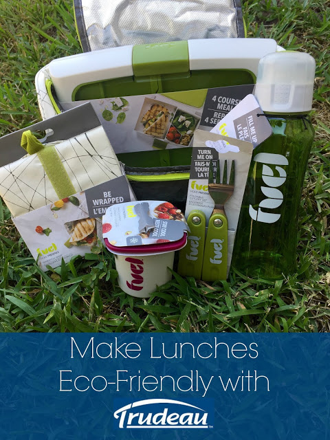 Make Lunches Eco-Friendly with Trudeau