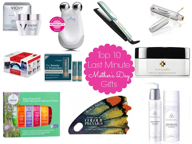 Top 10 Last Minute Mother's Day Beauty Gift Ideas